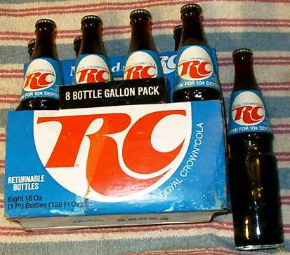 You tards are too young to remember when RC was just as big as Pepsi and Coke was. #1