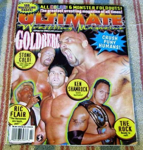Wrestler Oct 1985 Ric Flair Doctor D MBX34